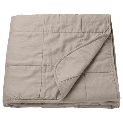GULVED グルヴェード ベッドカバー, ナチュラル, 260x250 cm