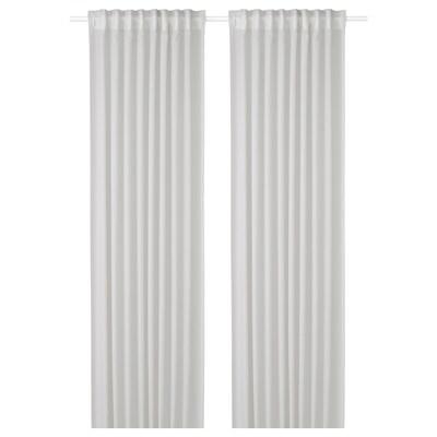 グンリード 空気清浄カーテン 1組, ライトグレー, 145x250 cm