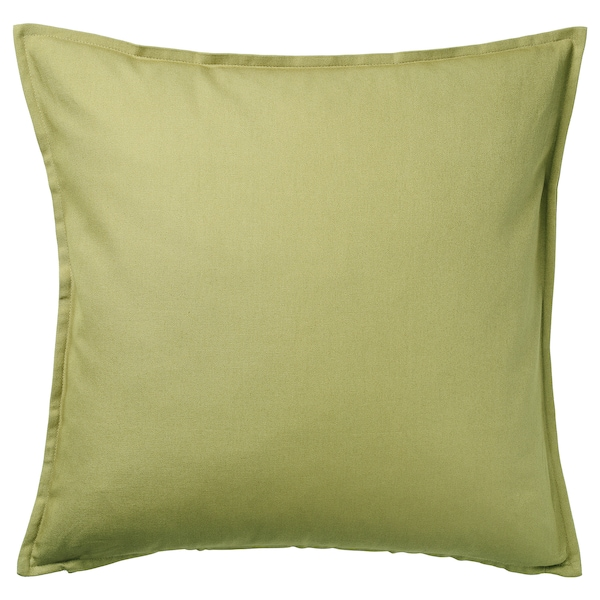 GURLI グルリ クッションカバー, オリーブグリーン, 50x50 cm