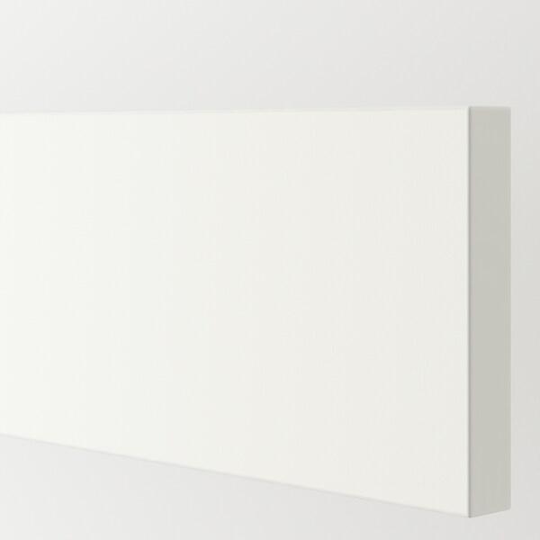 HÄGGEBY ヘッゲビー 引き出し前部, ホワイト, 75x10 cm