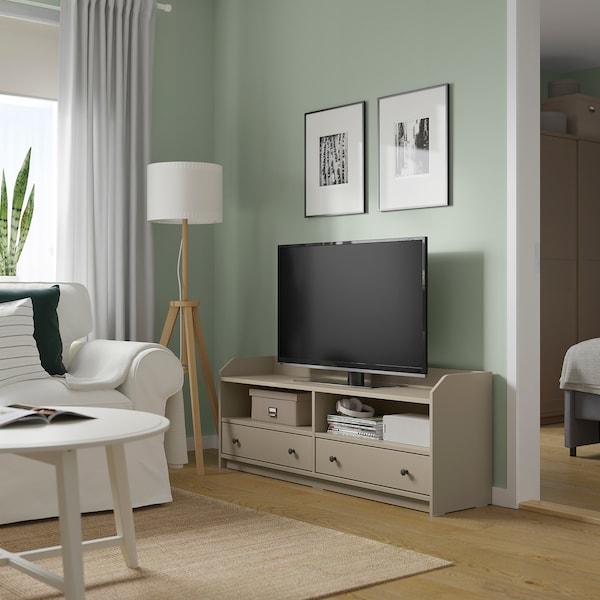 HAUGA ハウガ テレビ台, ベージュ, 138x36x54 cm
