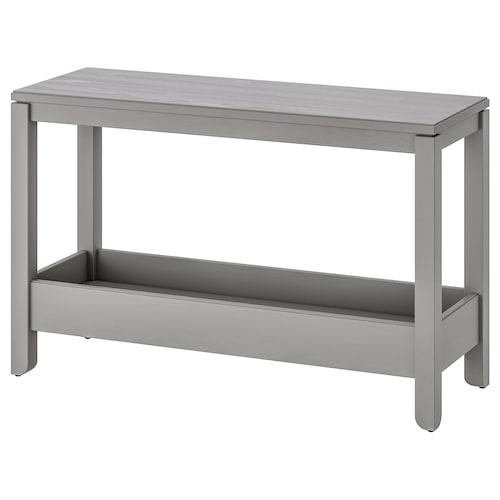 ハーヴスタ コンソールテーブル グレー 100 cm 35 cm 63 cm