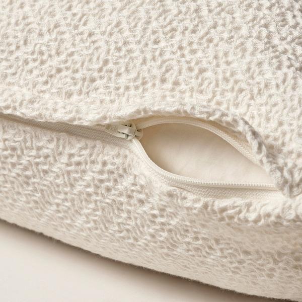 HEDSÄV ヘドセヴ クッションカバー, オフホワイト, 50x50 cm