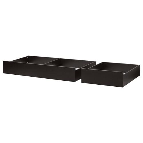 IKEA ヘムネス ベッド下収納ボックス2個セット