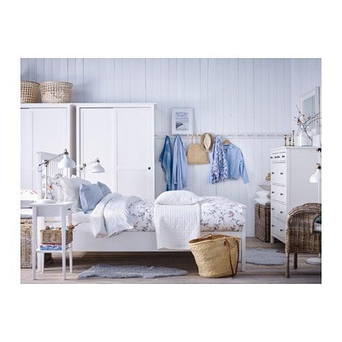 ナチュラルおしゃれな寝室にするなら木製ベッドのHEMNESがおすすめ