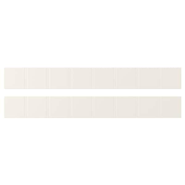 ヒッタルプ 引き出し前部, オフホワイト, 80x10 cm