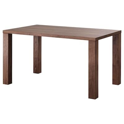 HJORSTA イョルスタ テーブル, ウォールナット, 140x84 cm