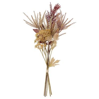 HÖSTKVÄLL ホストクヴェール 造花のブーケ, 室内/屋外用/ナチュラル, 61 cm
