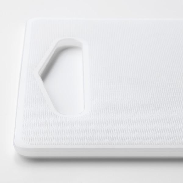 HOPPLÖS ホップロース まな板, ホワイト, 24x15 cm