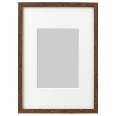 ホーヴスタ フレーム, ミディアムブラウン, 21x30 cm