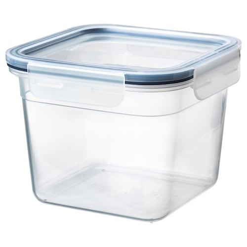 IKEA 365+ 保存容器 ふた付き 正方形/プラスチック 15 cm 15 cm 12 cm 1.4 l