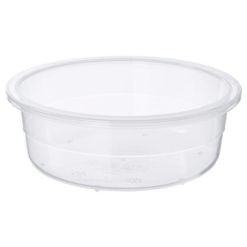 IKEA 365+ 保存容器 丸形/プラスチック 5 cm 14 cm 450 ml