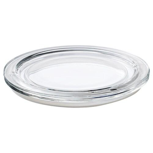 IKEA 365+ ふた 丸形/ガラス 14 cm