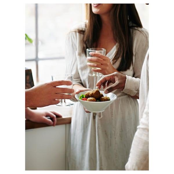 IKEA 365+ ボウル, 斜め縁 ホワイト, 17 cm