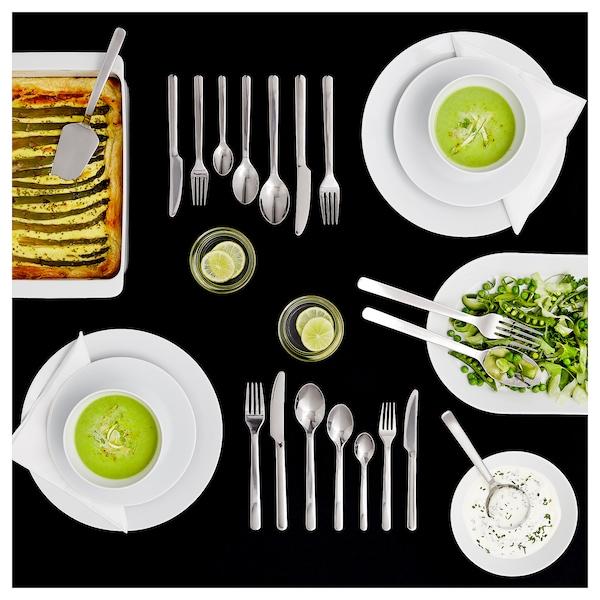 IKEA 365+ 深皿/ボウル, 斜め縁 ホワイト, 22 cm
