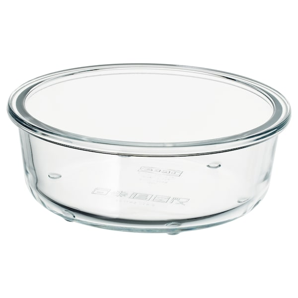 IKEA 365+ 保存容器, 丸形/ガラス, 400 ml