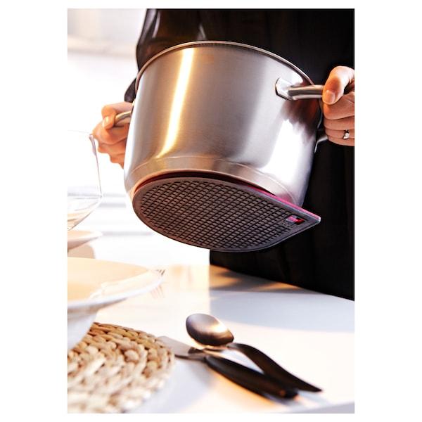 IKEA 365+ GUNSTIG IKEA 365+ グンスティーグ 鍋敷き マグネット式, レッド/ダークグレー