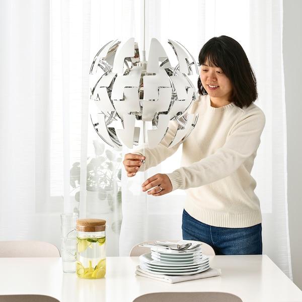 IKEA PS 2014 ペンダントランプ, ホワイト/シルバーカラー, 35 cm