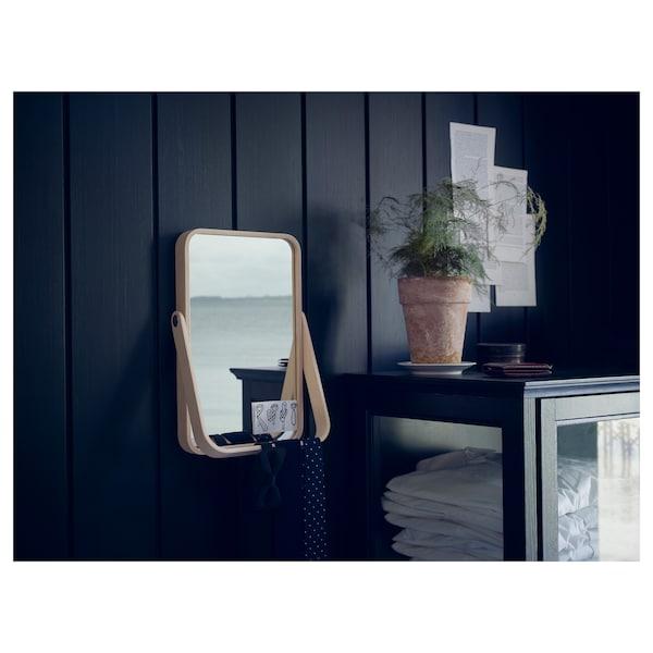 IKORNNES イコルネス テーブルミラー, アッシュ, 27x40 cm