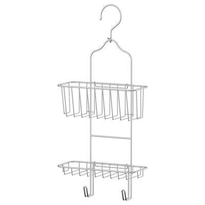 IMMELN インメン シャワーハンガー 2段, 亜鉛メッキ, 24x53 cm