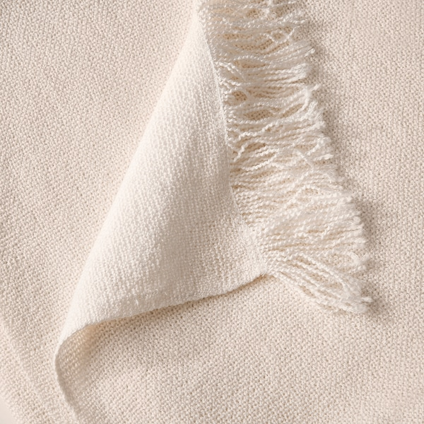 INGRUN イングルン ひざ掛け, ホワイト, 130x170 cm