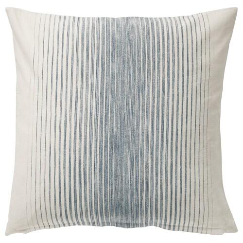 イスピッグ クッションカバー ブルー/ナチュラル 50 cm 50 cm