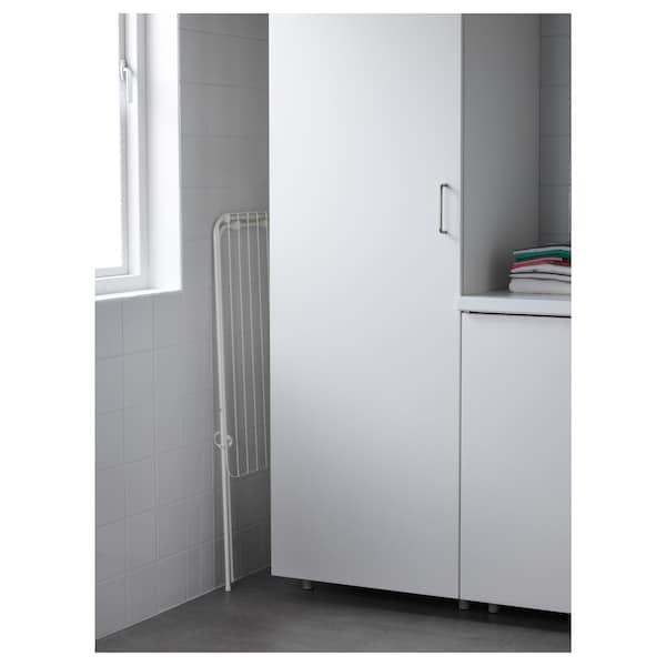 JÄLL イェル 物干しラック 室内/屋外用, ホワイト