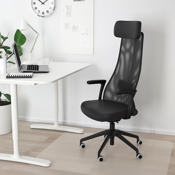IKEA イェルヴフェレット オフィスチェア アームレスト付き