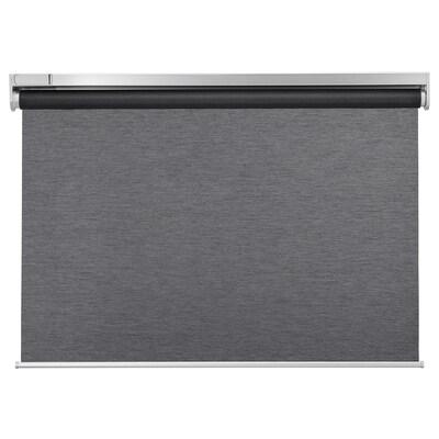 カドリリ ローラーブラインド, ワイヤレス/電池式 グレー, 80x195 cm