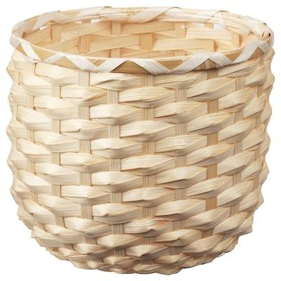KAFFEBÖNA カフェボーナ 鉢カバー, 竹, 15 cm