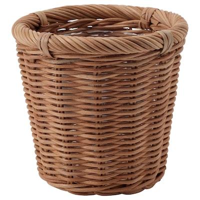 KAKTUSFIKON カクトゥスフィコン 鉢カバー, 籐, 12 cm