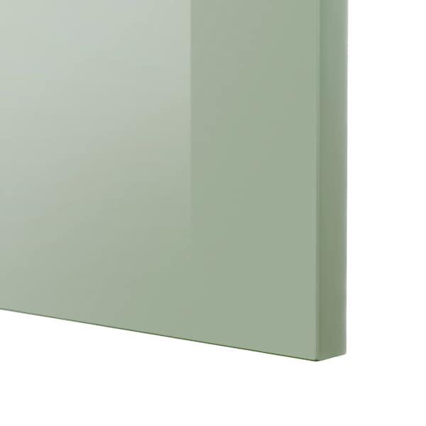 KALLARP カッラルプ 扉, ハイグロス ライトグリーン, 40x200 cm