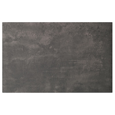 KALLVIKEN カルヴィーケン 扉/引き出し前部, ダークグレー コンクリート調, 60x38 cm