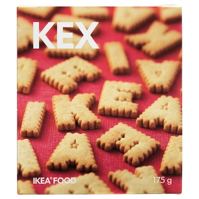KEX ケックス IKEA アルファベットビスケット
