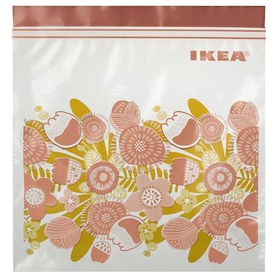 KLENÄT クレネート フリーザーバッグ, ピンク, 2.5 l