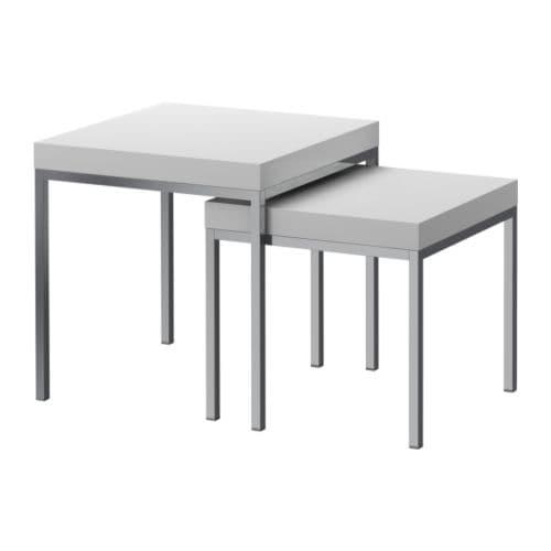家庭のアイデア テーブルセット ikea : Nesting Tables IKEA