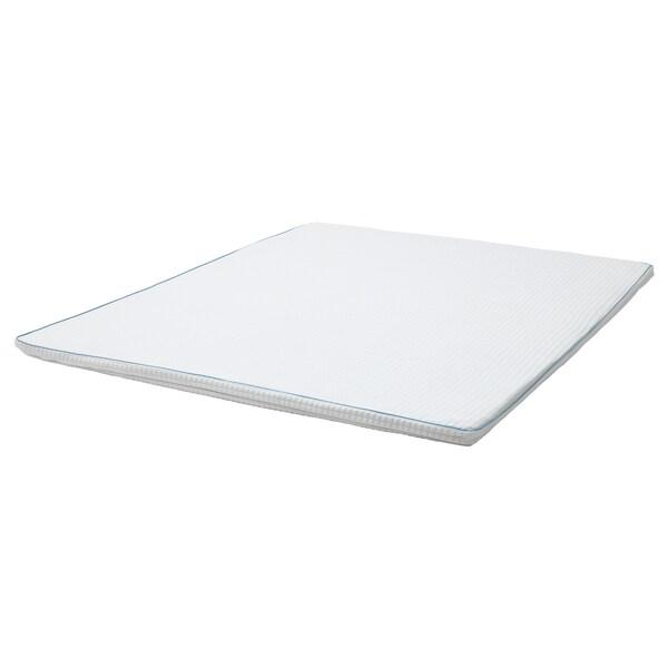 KNAPSTAD クナップスタード マットレスパッド, ホワイト, 140x200 cm