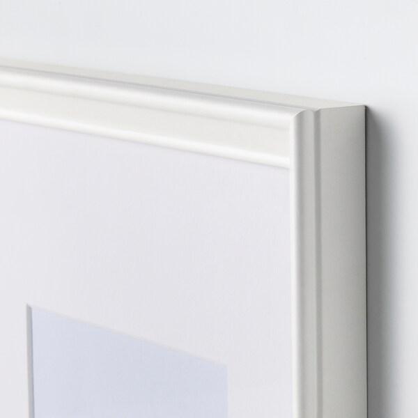KNOPPÄNG クノッペング フレーム, ホワイト, 30x40 cm