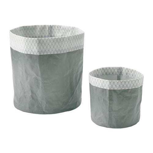 KOLOKVINT 鉢カバー2個セット IKEA