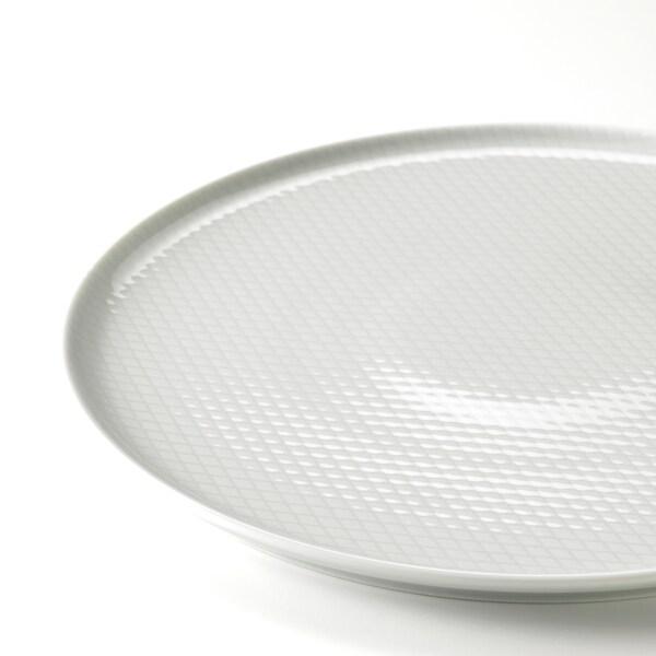 KRUSTAD クルースタード プレート, ライトグレー, 25 cm