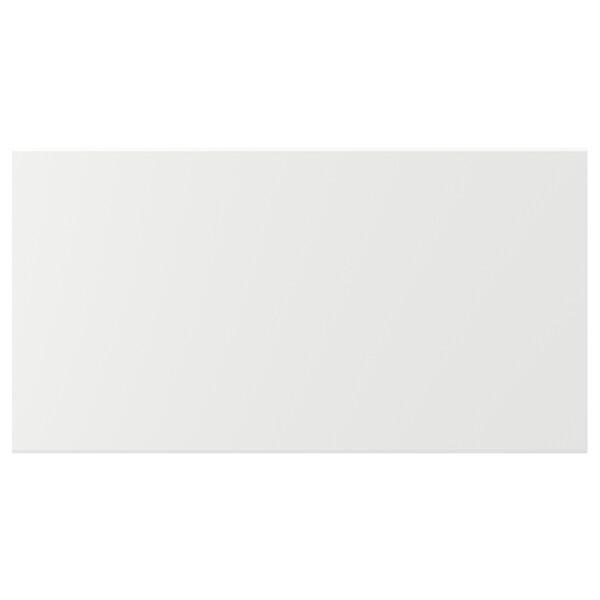 クングスバッカ 引き出し前部, マットホワイト, 75x40 cm