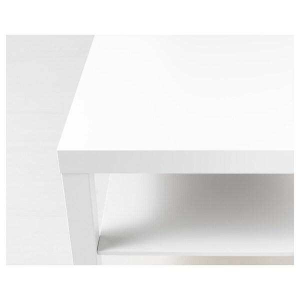 LACK ラック コーヒーテーブル, ホワイト, 90x55 cm