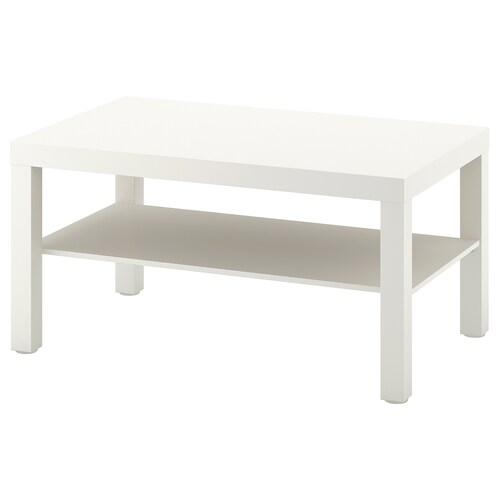 ラック コーヒーテーブル ホワイト 90 cm 55 cm 45 cm
