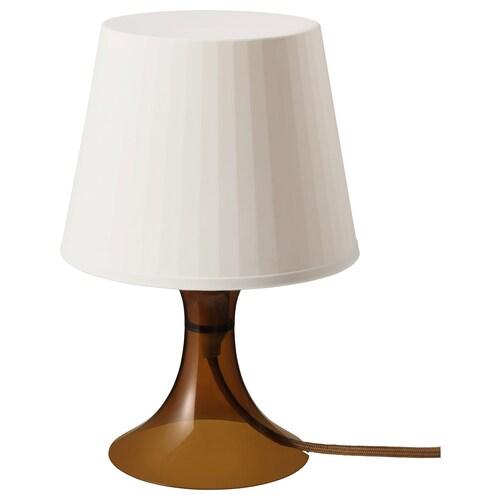 ラムパン テーブルランプ ブラウン 40 W 19 cm 29 cm 13 cm 1.3 m