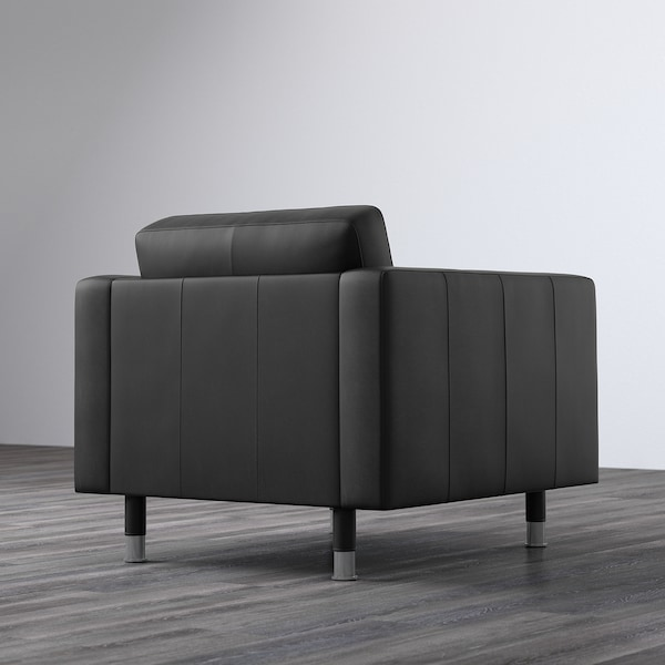 ランズクローナ パーソナルチェア グラン/ボームスタード ブラック/メタル 89 cm 89 cm 78 cm 65 cm 61 cm 44 cm