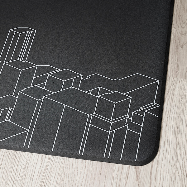 LÅNESPELARE ローネスペラレ フロアプロテクター, 110x100 cm