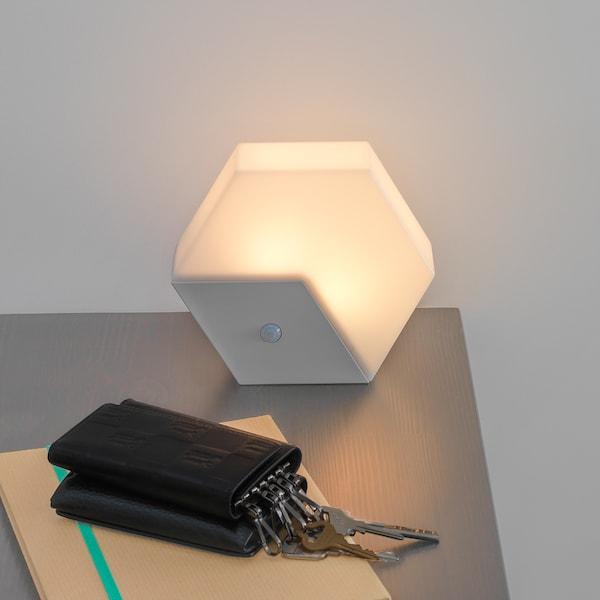 LILLPITE リルピーテ LEDナイトライト, 電池式/ライトグレー