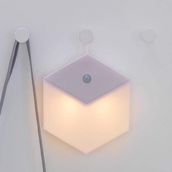 LILLPITE リルピーテ LEDナイトライト, 電池式/ライトピンク