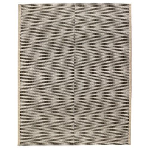 ローベック ラグ 平織り、室内/屋外用 ベージュ 250 cm 200 cm 5 mm 5.00 m² 1600 g/m²