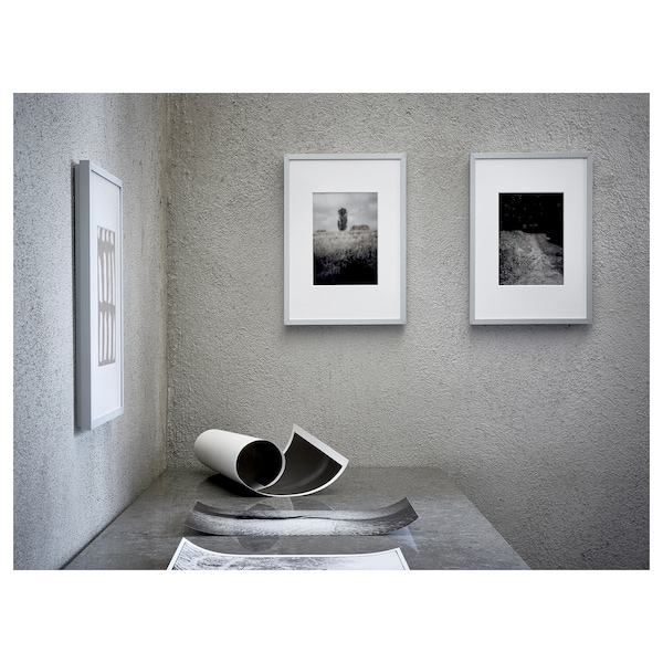 LOMVIKEN ロムヴィーケン フレーム, アルミニウム, 30x40 cm